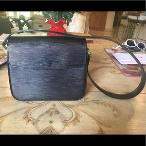 Louis Vuitton Black Epi Buci Box Bag